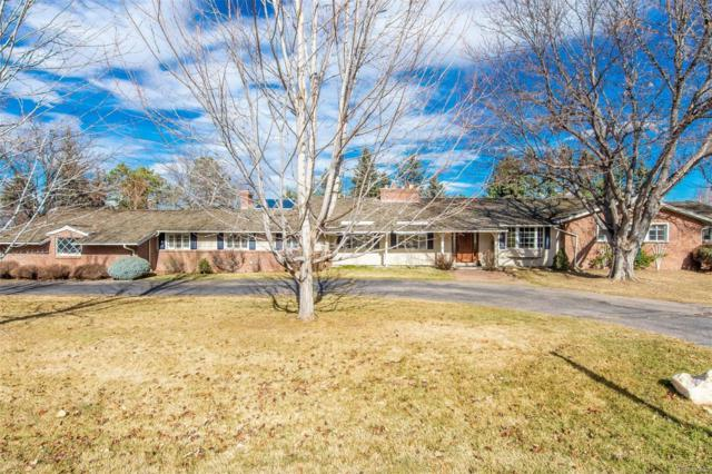 2950 E Stanford Drive, Cherry Hills Village, CO 80113 (#6251044) :: The City and Mountains Group