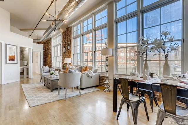 2441 N Broadway #108, Denver, CO 80205 (#6252922) :: Chateaux Realty Group