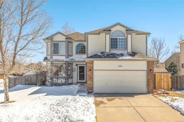 220 Chatfield Avenue, Castle Rock, CO 80104 (#6253876) :: The HomeSmiths Team - Keller Williams