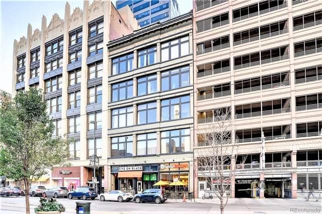 1617 California Street 5C, Denver, CO 80202 (#6254694) :: Finch & Gable Real Estate Co.