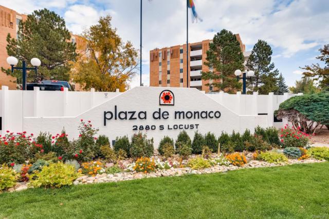 2880 S Locust Street N108, Denver, CO 80222 (MLS #6260096) :: 8z Real Estate