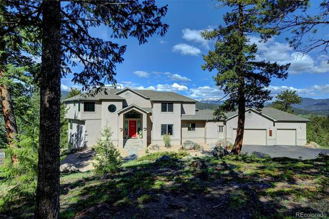 7260 S Frog Hollow Lane, Evergreen, CO 80439 (#6260629) :: The DeGrood Team