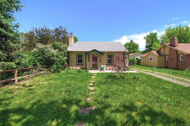 1322 Tamarac Street, Denver, CO 80220 (#6260688) :: The Pete Cook Home Group