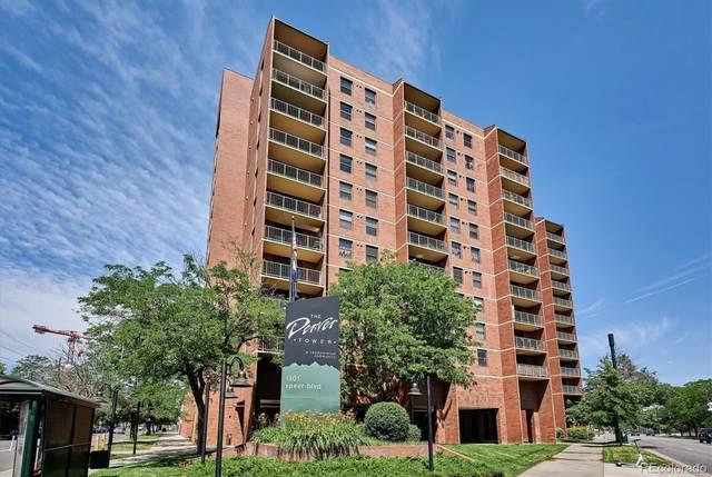 1301 Speer Boulevard #1001, Denver, CO 80204 (#6262800) :: The Colorado Foothills Team | Berkshire Hathaway Elevated Living Real Estate