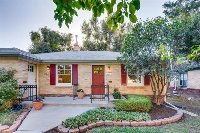 775 Elm Street, Denver, CO 80220 (MLS #6267778) :: 8z Real Estate