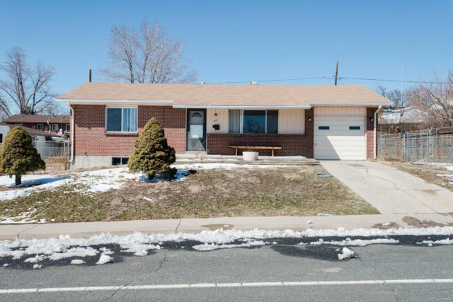 861 El Paso Boulevard, Denver, CO 80221 (MLS #6274465) :: Kittle Real Estate