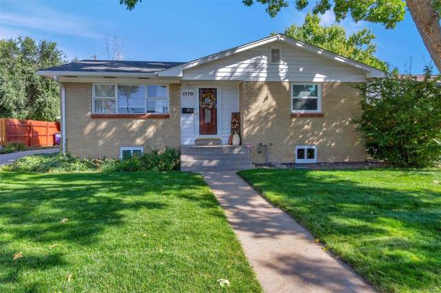 1570 S Utica Street, Denver, CO 80219 (#6275613) :: 5281 Exclusive Homes Realty
