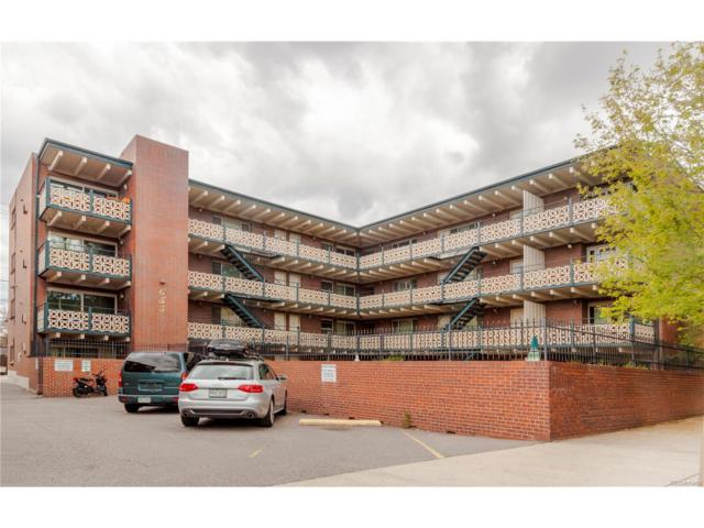 655 Pearl Street #401, Denver, CO 80203 (MLS #6279008) :: 8z Real Estate