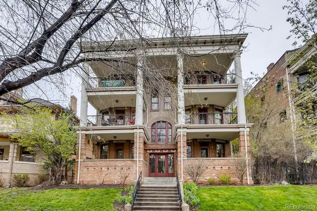 1560 N Ogden Street F, Denver, CO 80218 (MLS #6284955) :: Stephanie Kolesar