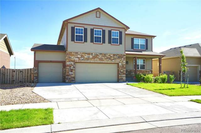 12652 E 104th Drive, Commerce City, CO 80022 (#6286185) :: Kimberly Austin Properties