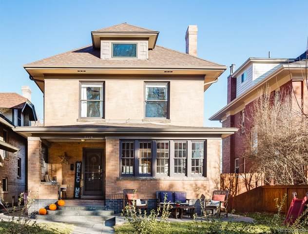 1274 Steele Street, Denver, CO 80206 (#6288316) :: Peak Properties Group
