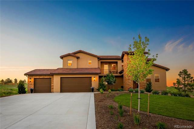4863 Crescent Moon Place, Parker, CO 80134 (#6288974) :: The DeGrood Team