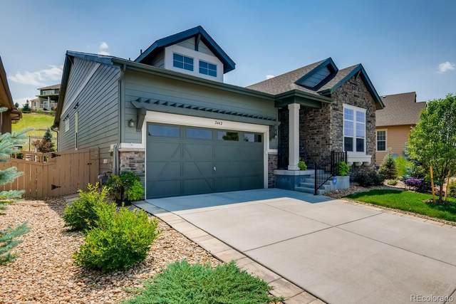 2442 Lassen Lane, Castle Rock, CO 80109 (#6291262) :: The Colorado Foothills Team | Berkshire Hathaway Elevated Living Real Estate