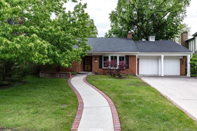 6040 E 1st Avenue, Denver, CO 80220 (MLS #6294879) :: Kittle Real Estate