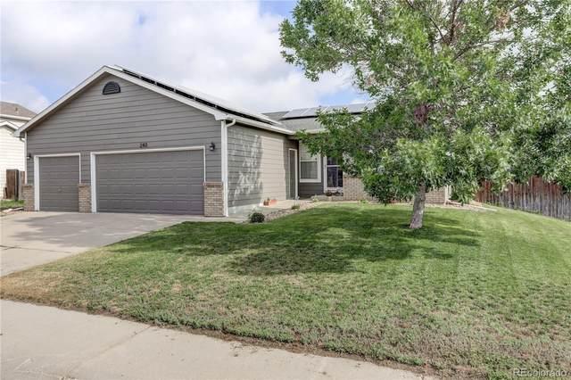 243 W Juneberry Street, Milliken, CO 80543 (MLS #6298351) :: 8z Real Estate