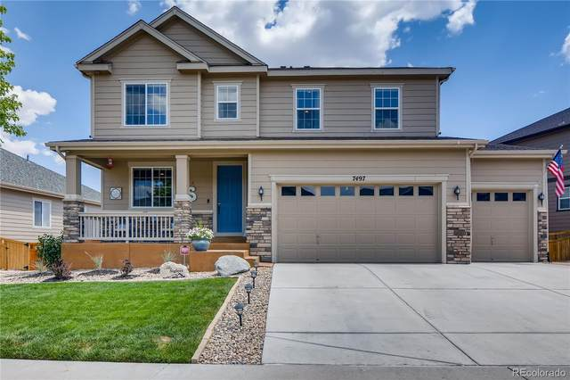 7497 Blue Water Lane, Castle Rock, CO 80108 (#6304620) :: The Gilbert Group