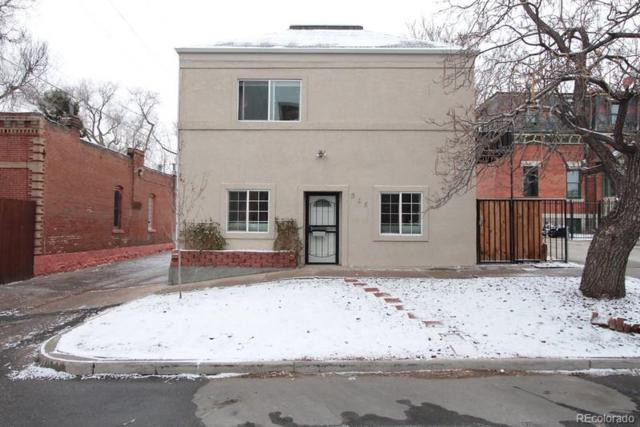915 26th Street, Denver, CO 80205 (#6306592) :: The Pete Cook Home Group