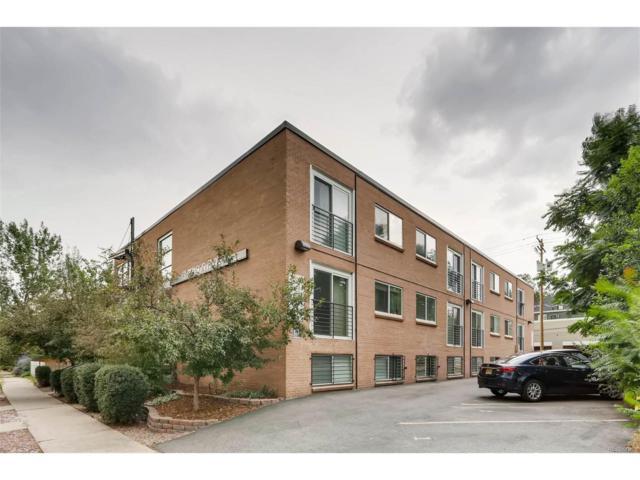 1032 Clarkson Street #201, Denver, CO 80218 (MLS #6309233) :: 8z Real Estate