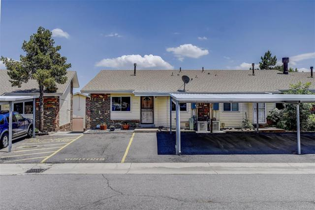 1034 S Miller Street, Lakewood, CO 80226 (#6309502) :: The HomeSmiths Team - Keller Williams