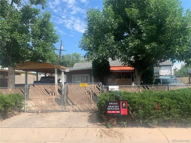3375 W Ford Place, Denver, CO 80219 (MLS #6311280) :: 8z Real Estate