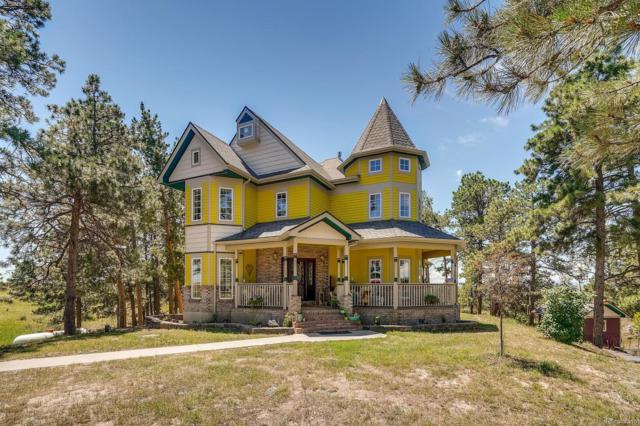 5570 County Road 124, Elizabeth, CO 80107 (#6315829) :: The Peak Properties Group