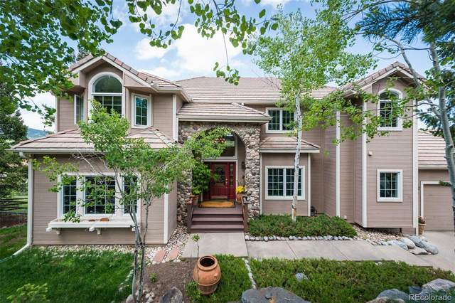3104 Elk View Drive, Evergreen, CO 80439 (MLS #6318304) :: 8z Real Estate