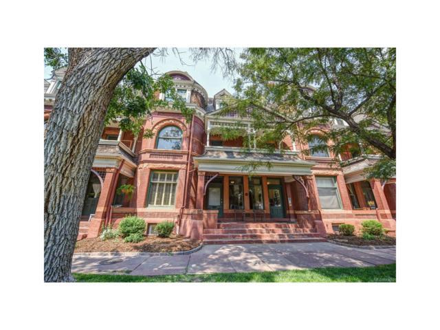 1013 E 17th Avenue #15, Denver, CO 80218 (MLS #6319960) :: 8z Real Estate