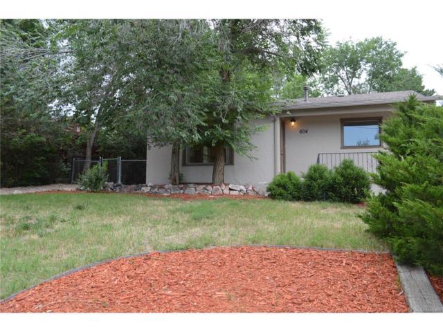 604 W Brookside Street, Colorado Springs, CO 80905 (MLS #6326438) :: 8z Real Estate