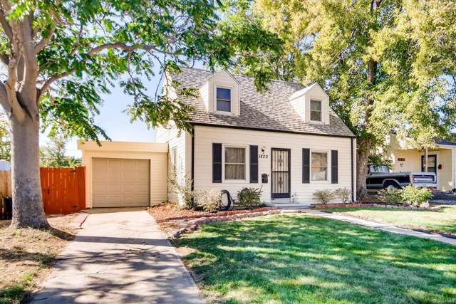 1820 W 52nd Avenue, Denver, CO 80221 (#6329746) :: The Healey Group