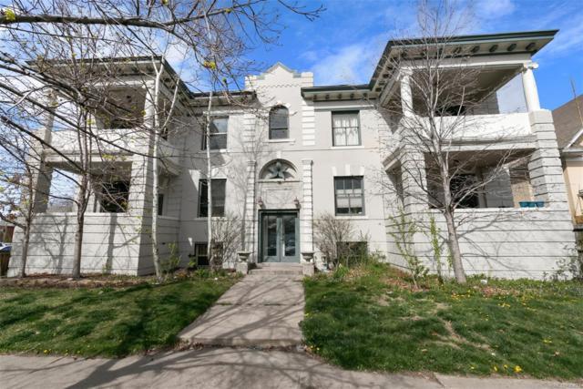 951 N Corona Street #2, Denver, CO 80218 (#6332619) :: The Peak Properties Group