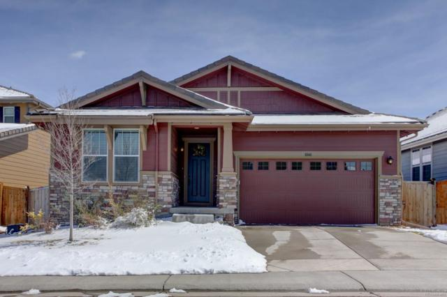 10140 Nadine Avenue, Parker, CO 80134 (#6337807) :: The Dixon Group