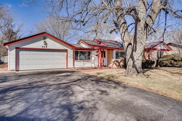 955 Flower Street, Lakewood, CO 80215 (#6339861) :: Bring Home Denver with Keller Williams Downtown Realty LLC