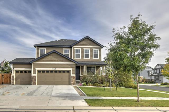 16567 E 99th Place, Commerce City, CO 80022 (#6341966) :: The Peak Properties Group