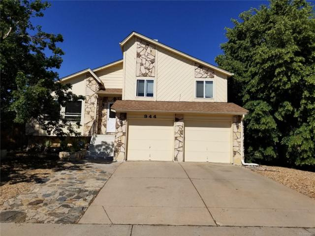 944 S Uravan Street, Aurora, CO 80017 (#6343423) :: The Peak Properties Group