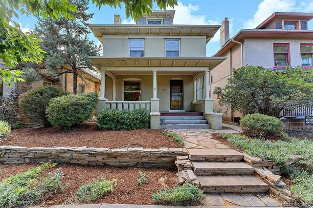 1355 Adams Street, Denver, CO 80206 (#6343566) :: The HomeSmiths Team - Keller Williams
