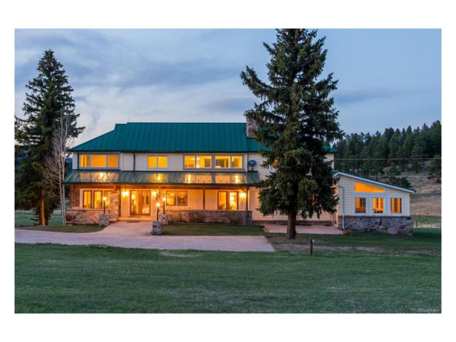 5810 Bluebell Lane, Evergreen, CO 80439 (MLS #6351373) :: 8z Real Estate