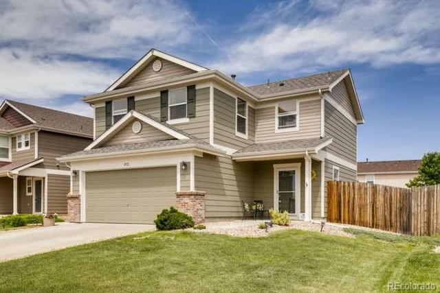 892 Willow Drive, Lochbuie, CO 80603 (#6351601) :: The Galo Garrido Group