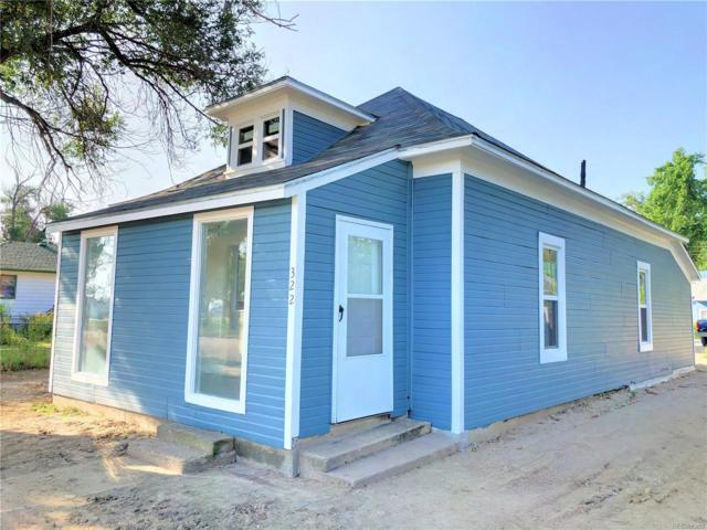322 3rd Street, Hugo, CO 80821 (MLS #6353077) :: 8z Real Estate