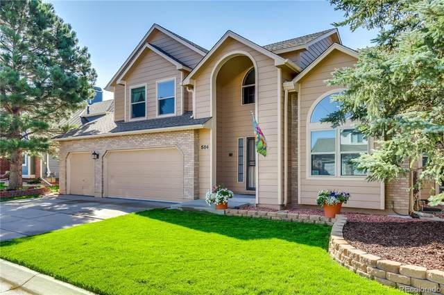 584 W Prestwick Way, Castle Rock, CO 80104 (MLS #6355770) :: 8z Real Estate