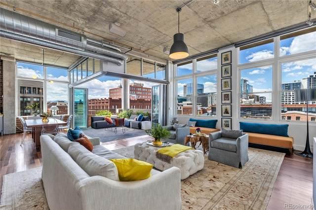 1720 Wazee Street 5A, Denver, CO 80202 (#6357134) :: Bring Home Denver with Keller Williams Downtown Realty LLC