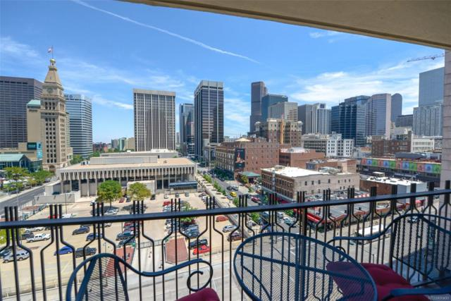 1020 15th Street 10J, Denver, CO 80202 (#6357183) :: Bring Home Denver