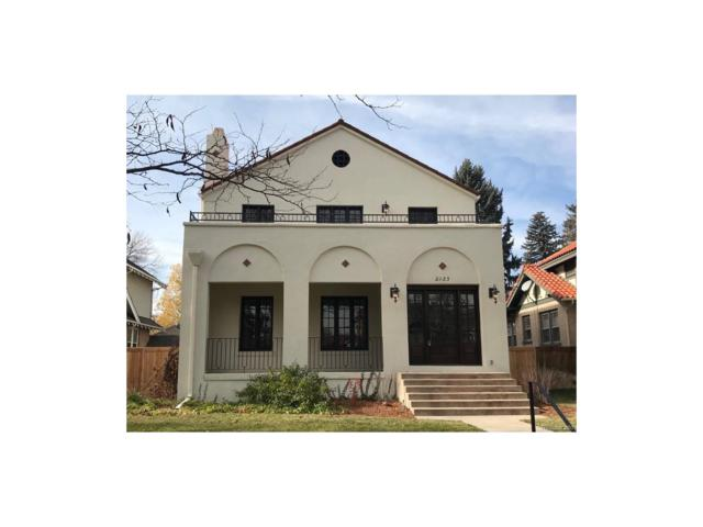 2025 Cherry Street, Denver, CO 80207 (#6362753) :: Thrive Real Estate Group