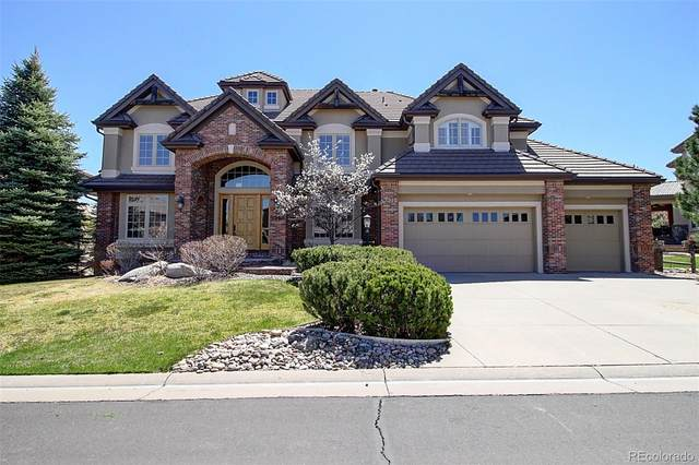 9566 S Silent Hills Drive, Lone Tree, CO 80124 (#6365018) :: HomeSmart
