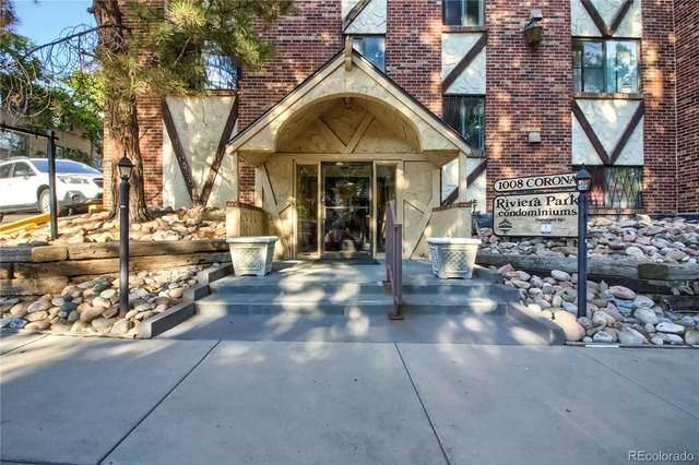 1008 N Corona Street #607, Denver, CO 80218 (#6365945) :: The Artisan Group at Keller Williams Premier Realty