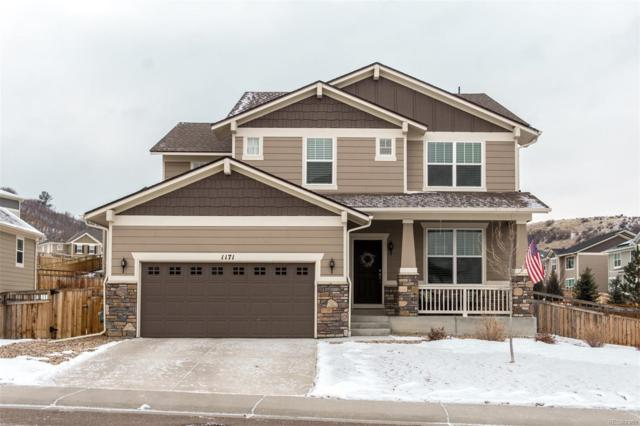 1171 Clear Sky Way, Castle Rock, CO 80109 (#6369134) :: Keller Williams Action Realty LLC