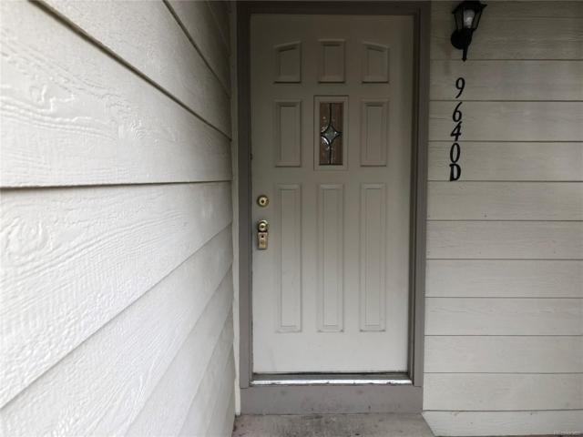 9640 W Chatfield Avenue D, Littleton, CO 80128 (#6371496) :: The Peak Properties Group
