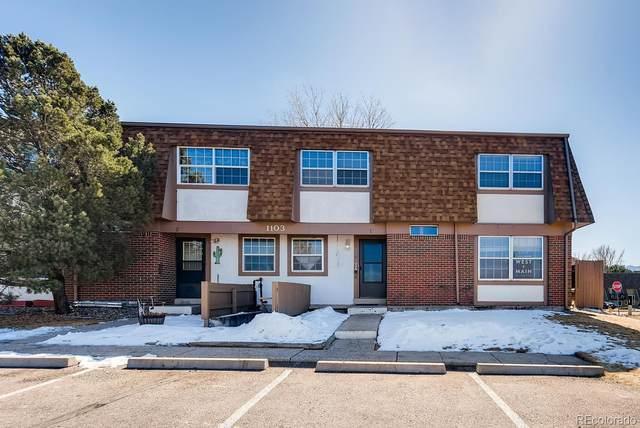 1103 Willow Bend Circle C, Colorado Springs, CO 80918 (MLS #6371500) :: 8z Real Estate