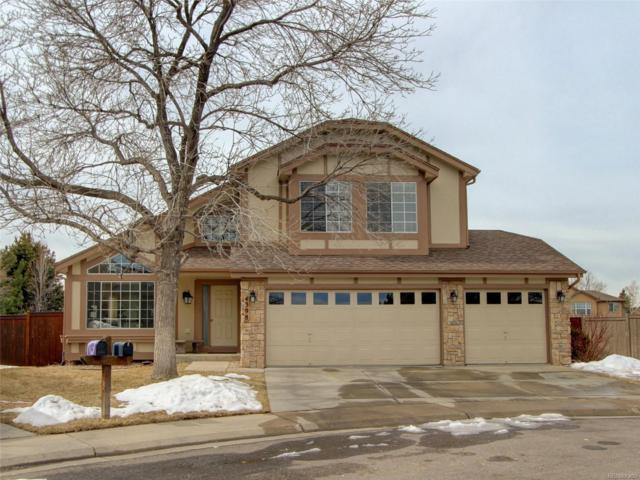 4398 W Sawmill Court, Castle Rock, CO 80109 (#6372785) :: The HomeSmiths Team - Keller Williams