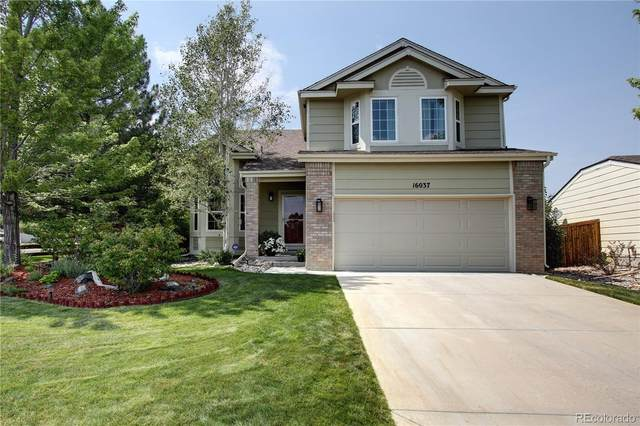 16037 Ledge Rock Drive, Parker, CO 80134 (MLS #6372899) :: Neuhaus Real Estate, Inc.