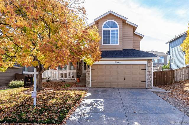 1360 Knollwood Way, Highlands Ranch, CO 80126 (#6373131) :: The Scott Futa Home Team